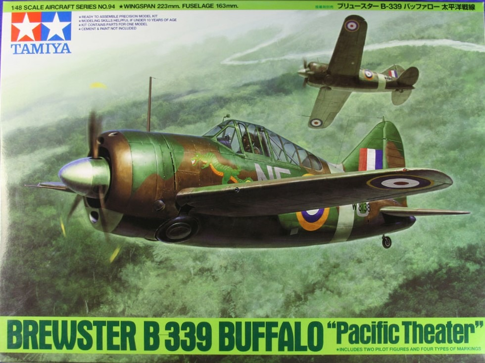 Brewster Buffalo B-339 'Pacific Theater'