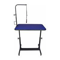 Mesa Regulável Azul - Metal Pratic