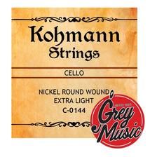 Encordado Cuerdas Para Cello Kohmann Kc0144