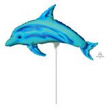 globo delfin 35 cm desinflado