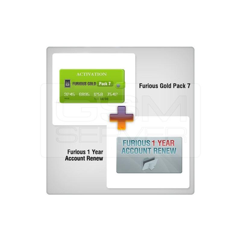 Renovación de acceso al servidor Furious Gold por ...