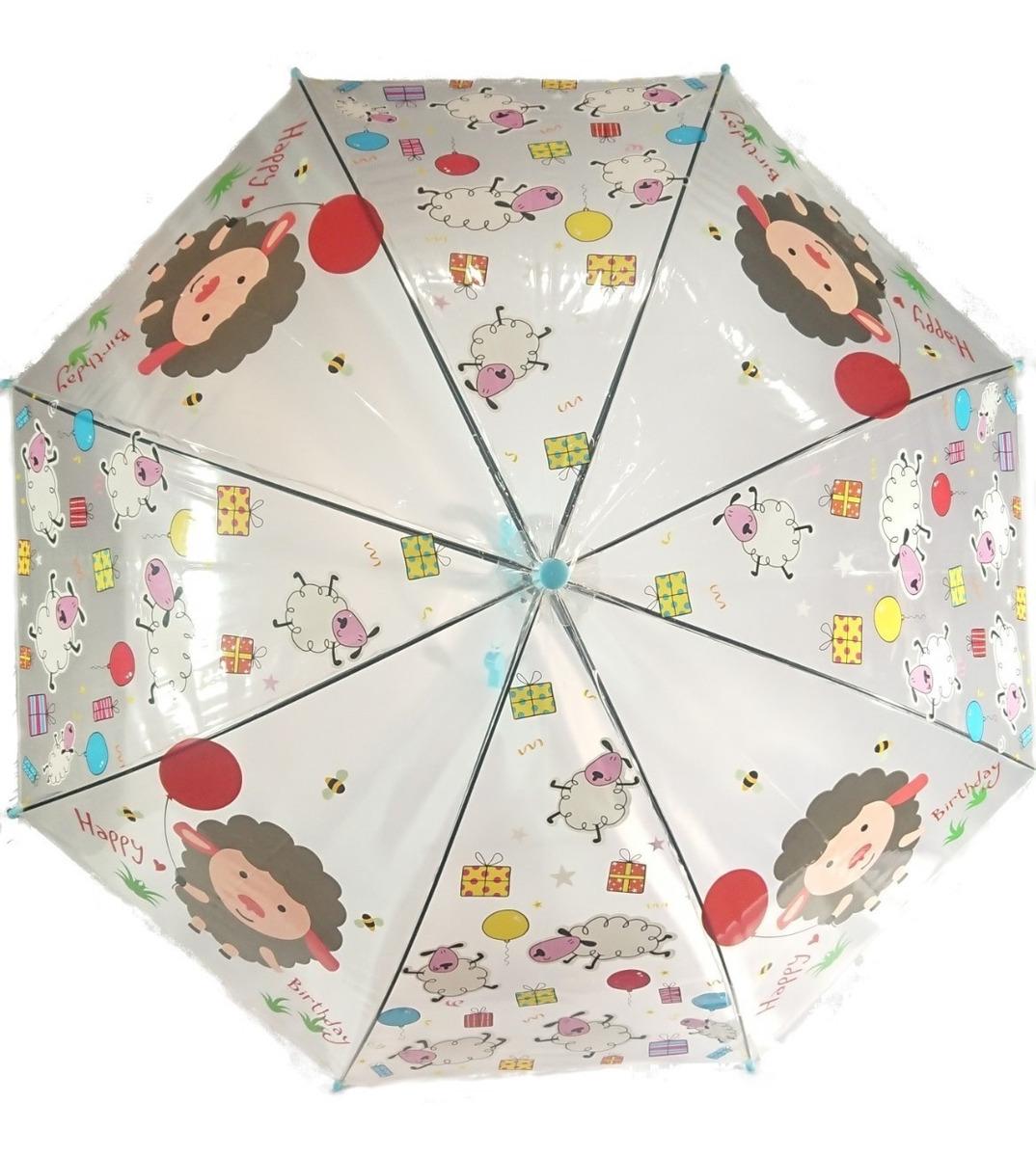 Paraguas Lluvia Infantil Diseno Automatico