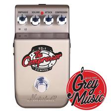 Pedal Compressor Marshall Para Guitarra Ed-1 - Grey Music -
