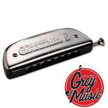 Armonica Hohner M25001  Chrometta 8 32 Voces - Grey Music