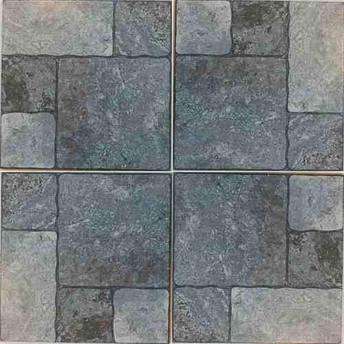Ceramica Gris Barata Piso Piedra Rustica Apta Exterior Patio