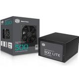 Fuente De Poder Cooler Masterwatt Lite 500w 80+