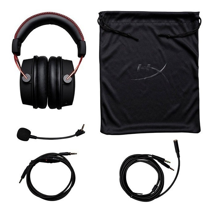 Auriculares Hyperx Cloud Alpha Red Pc Ps4 Xbox One Gamer
