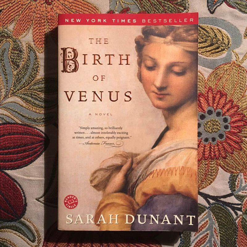 Sarah Dunant.  THE BIRTH OF VENUS.