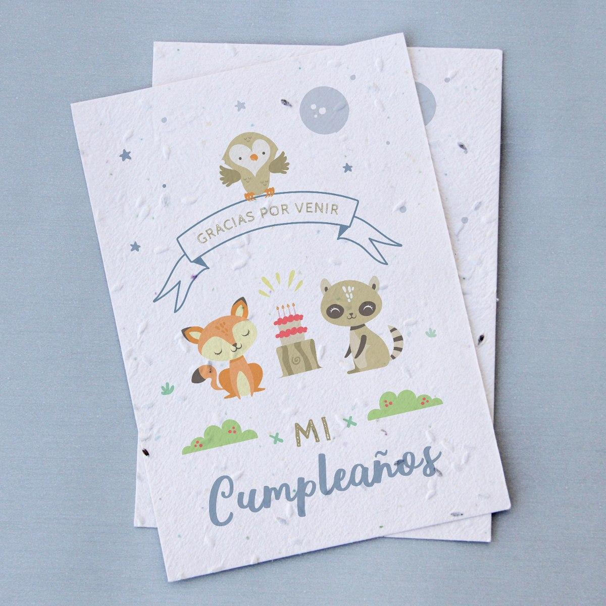 30 Souvenirs Plantables Cumpleaños Infantil - Pape...