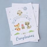 10 Souvenirs Plantables Cumpleaños Infantil - Papel Reciclado Plantable