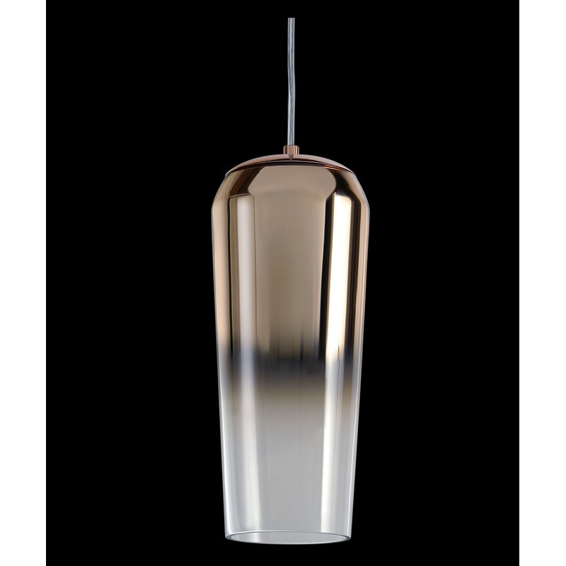 Colgante Lanin Cobre Apto Led E27 Deco Diseño Moderno