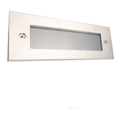 X 8 Spot Embutir Aluminio Pared Led Incluido Ideal Escalera