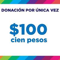 Donación $100