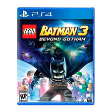 Lego Batman 3 Beyond Gotham Ps4 Fisico Sellado Original