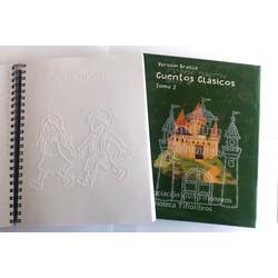 Libro impreso en braille de cuentos c...