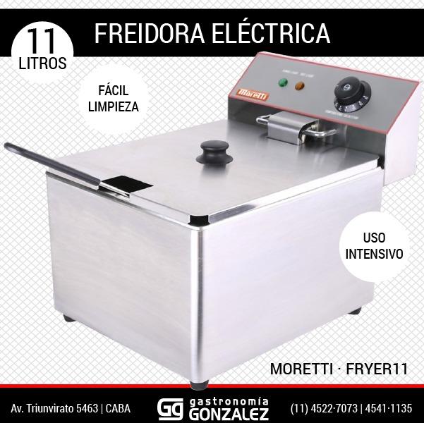 Freidora Moretti Fryer 11 Lts
