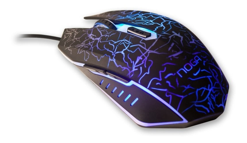 Mouse Gamer Stormer Series 2400 Dpi St-002 Retroiluminado