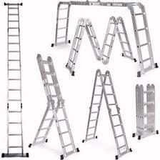 Escalera Aluminio 4x4 4 7mts Reforzada Konan Hot Sale