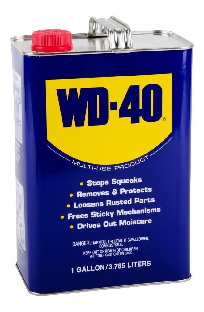 Lubricante Aceite Wd-40 Galon 3 785l Aflojatodo Villa Lynch