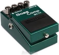 Boss Bc1x Bass Comp Pedal Compresor Para Bajo - Grey Music -
