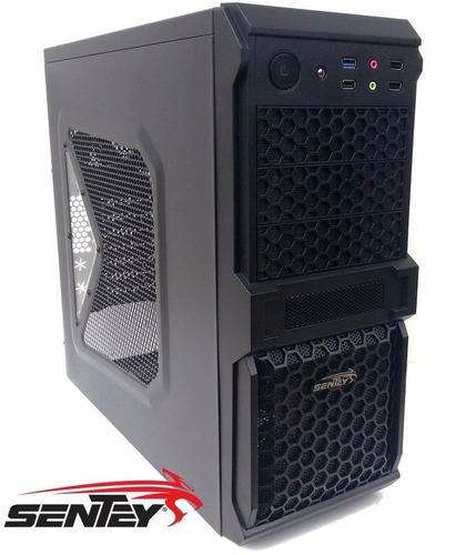 Gabinete Pc Sentey Optimus 2 Plus 3 Coolers Control Fan