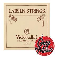 Encordado Larsen Medium De Cello 4/4 - Grey Music