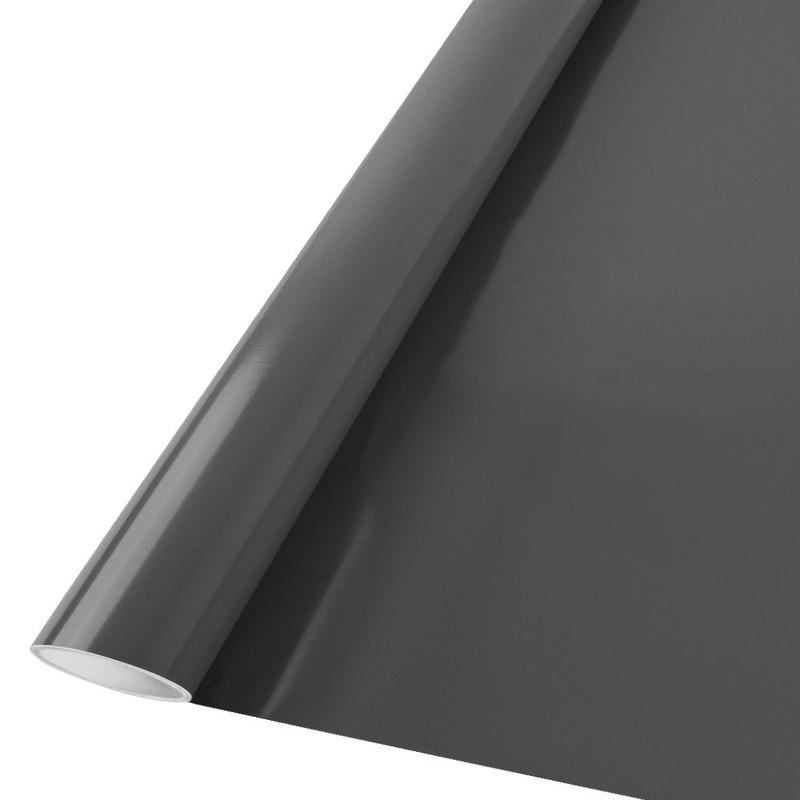 Vinil adesivo Goldmax cinza escuro larg. 1,22 m