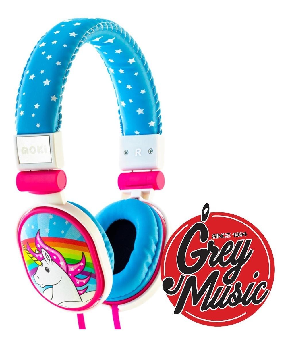 Auricular Moki Popper Microfono Pc Cel Tablet - Unicorn
