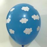 globo nube celeste desinflado apto helio aire