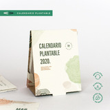 5 Calendarios Plantables 2020