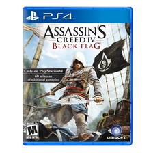 Assassins Creed 4 Iv Black Flag Ps4 Fisico Sellado Original