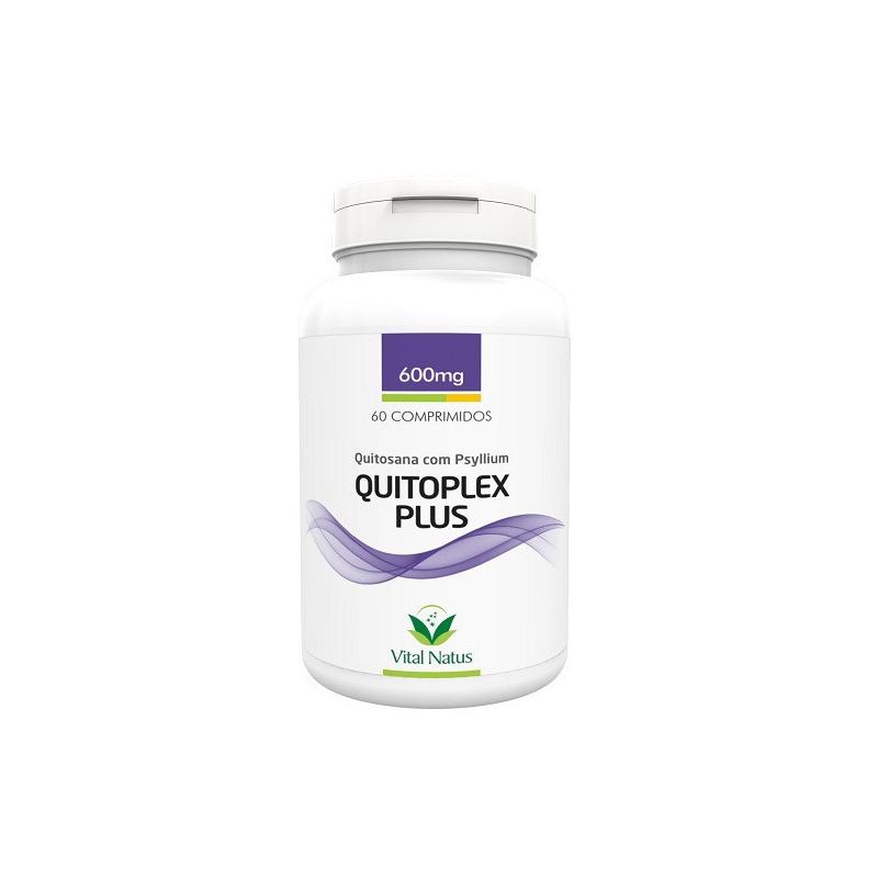 Quitoplex Plus (Quitosana+Psyllium) 60Caps.600mg Vital Natus