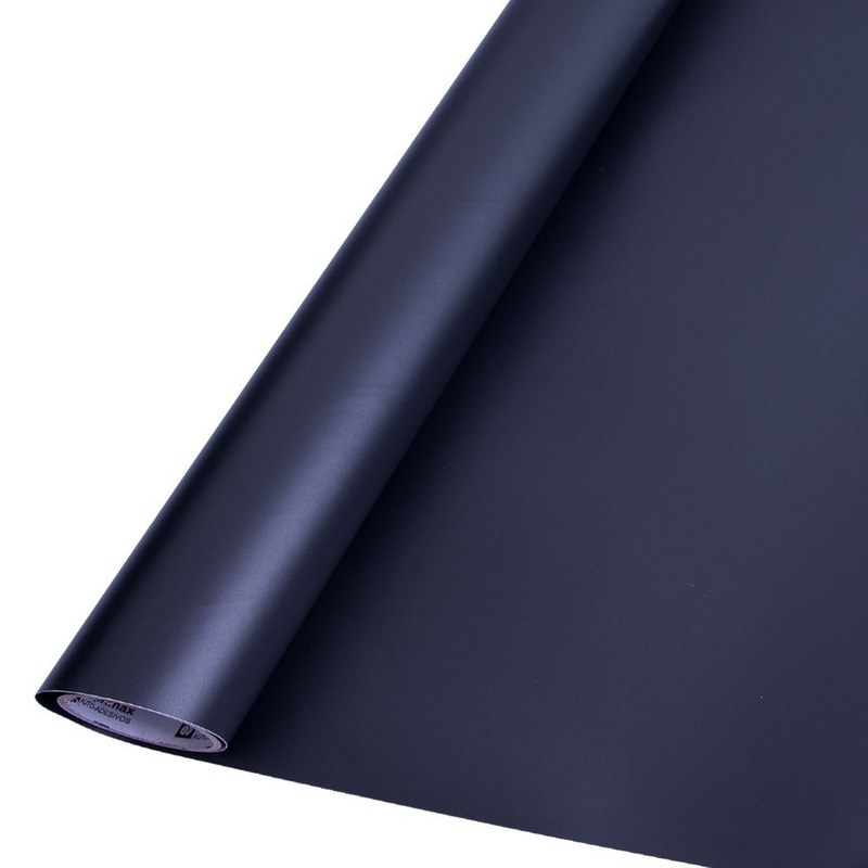 Vinil adesivo colormax preto fosco larg. 0,50 m