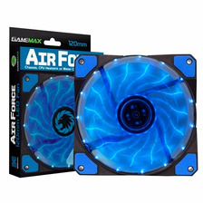 Cooler Fan Gamemax 120 Air Force 15 Led 120mm - 2 Colores