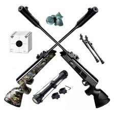 Rifle Aire Comprimido Fox Nitro Compact + Mira 4x40 + Bipode
