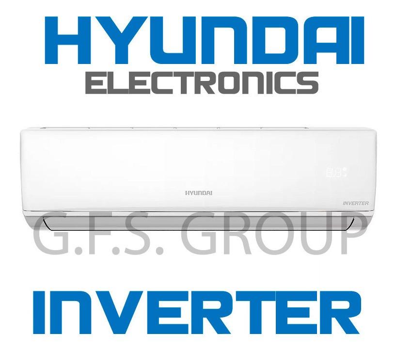 Split Inverter Hyundai 3400 Watts 3000 Frig  Frio/calor