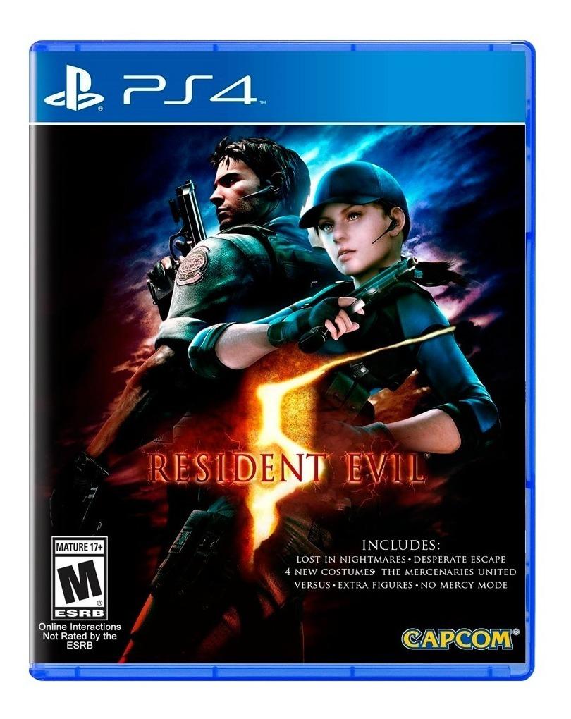 Resident Evil 5 Ps4 Fisico Sellado Nuevo Original San Justo