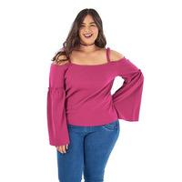Blusa rosa manga larga 014391P