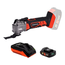 Oscilatoria A Bateria + Cargador + Bat 18v Flex Dowen Pagio