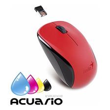 Mouse Genius Nx 7000 Inalambrico 1200 Dpi Rojo Optico Local