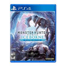 Monster Hunter World Iceborne Ps4 Fisico Sellado Original