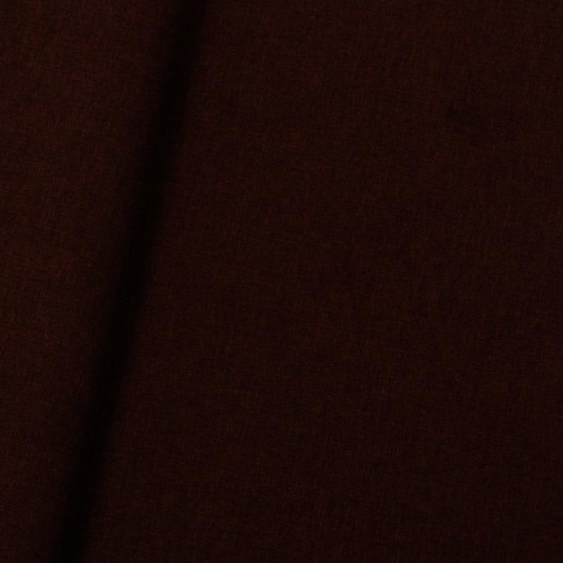 Tecido linho sintético mescla preto-marrom (06) Coleção New York IV