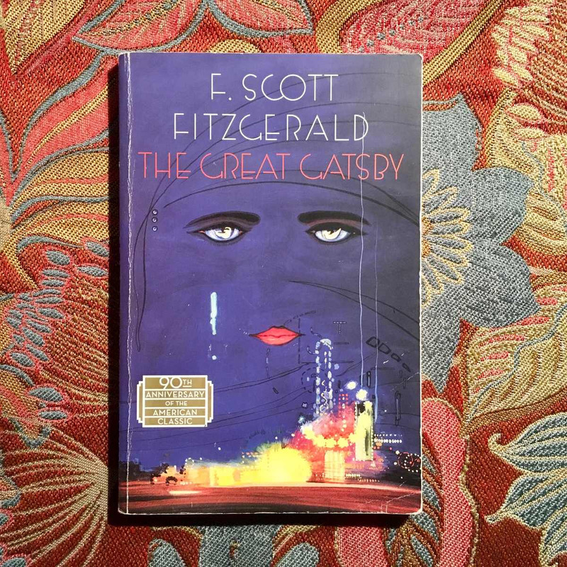 F. Scott Fitzgerald.  THE GREAT GATSBY.