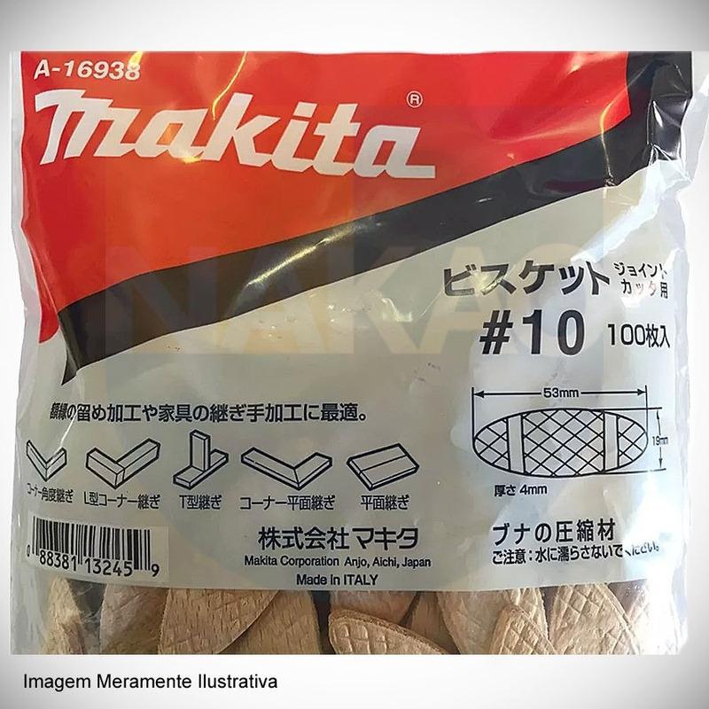Biscoito para Fresadora de Junção #20 Espessura 4 mm - A-16944 - Makita