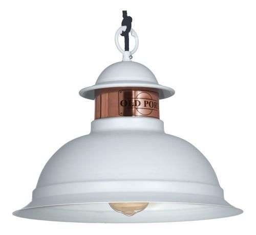 Colgante 35cm E27 Vintage Lámpara Techo Industrial Galponera PXkZTuOi