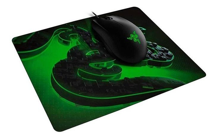 Mouse Razer Abyssus Lite Chroma Rgb + Pad Goliathus Mobile