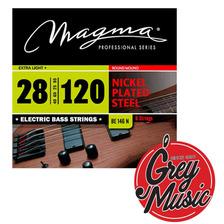 Encordado Magma Be146n Para Bajo 28-120 Nickel 6 Cuerdas