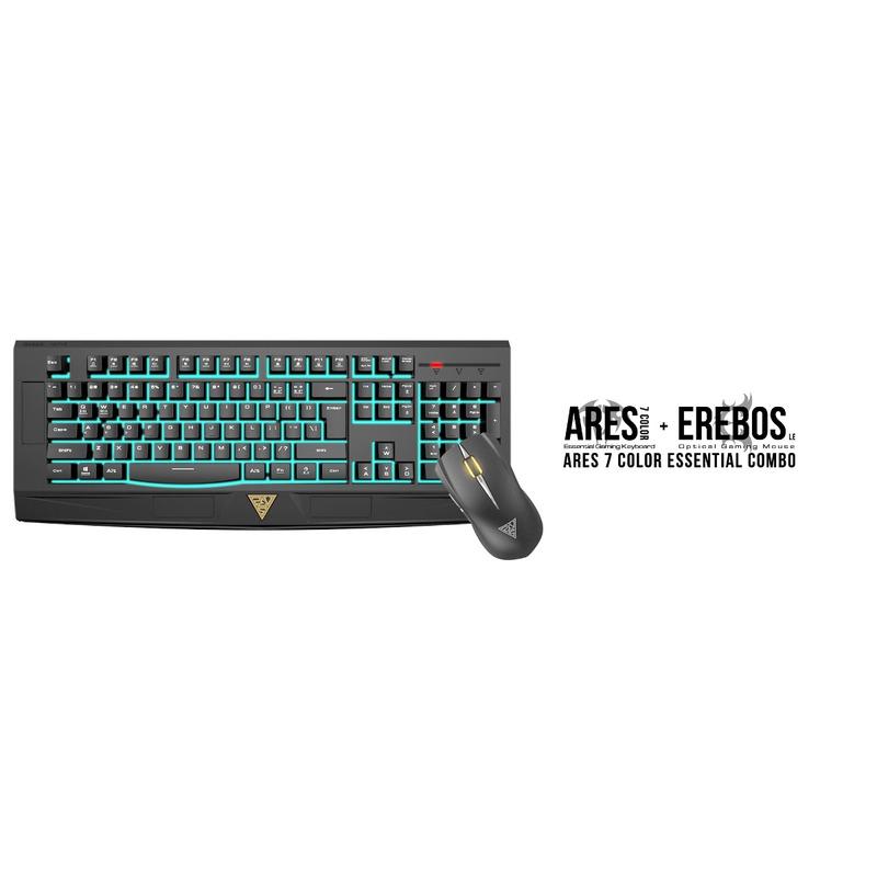 Kit Tec/Mouse Gamdias Ares 7 Color Essential