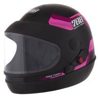 Capacete Pro Tork Sport Moto 788 Rosa