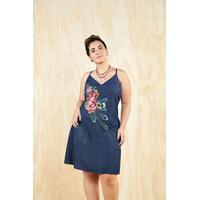 Vestido azul mezclilla 015383P